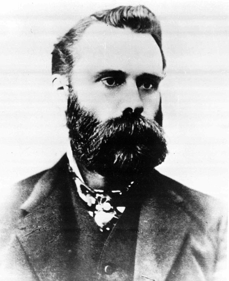Charles Dow, Wall Street Journal editor is shown in this undated photo. Charles…
