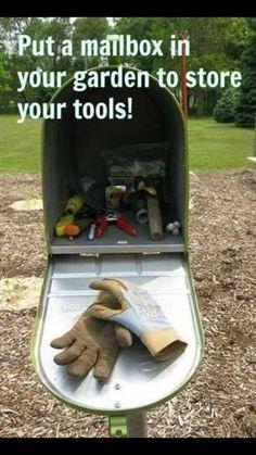 Garden tools Storage