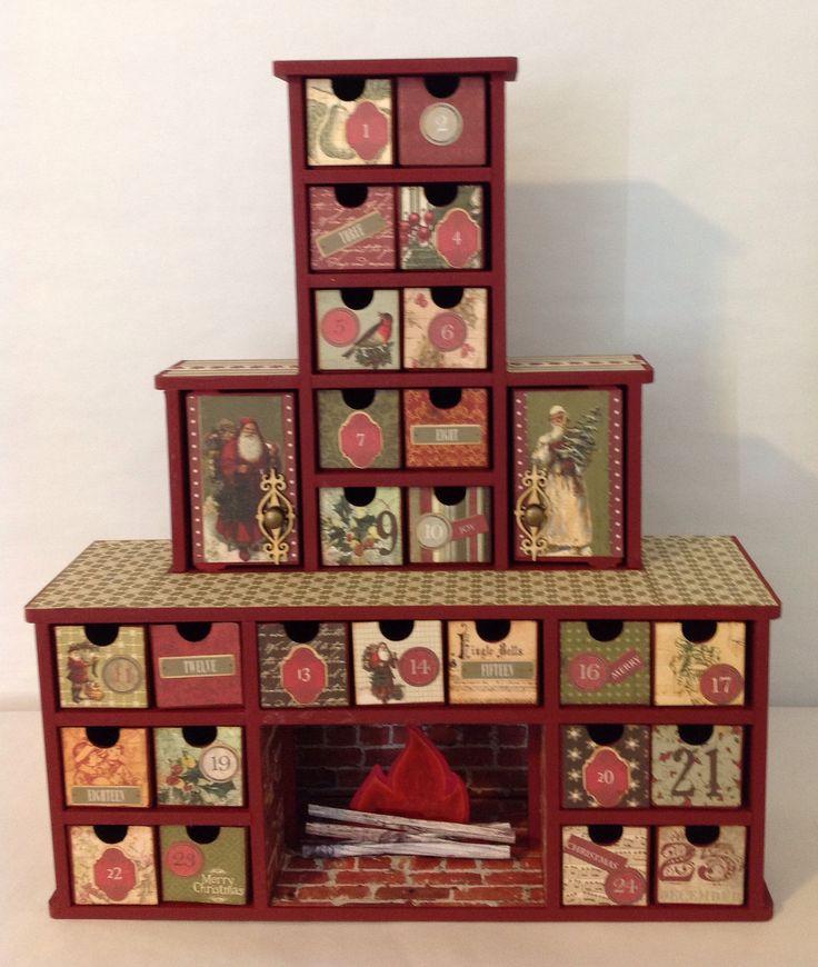Kaisercraft Chimney Advent Calendar