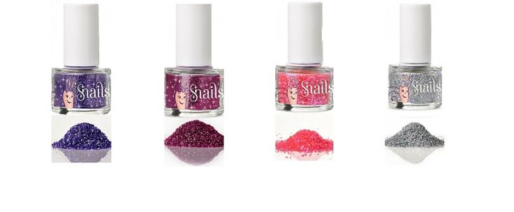 Sparkles are a girls best friend! This is why we made magic in a bottle for your little princesses to use and have fun with.  Snails glitter collection is quick and easy to use. Paint your nails with your favourite Snails nail polish and sprinkle some glitter to add shine and glamour. If you want the magic to last long simply add Snails Natural Top Coat. Cosmetics have never been this fun AND safe!