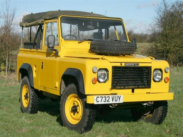 Land Rover Defender 90 2.5 N/A Ex RAF, Yellow, Diesel, Manual for sale
