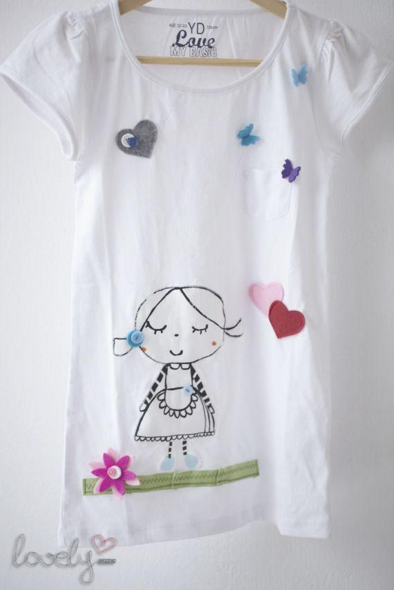 "Camisetas personalizadas / ""Lovely"" corner - Artesanio"