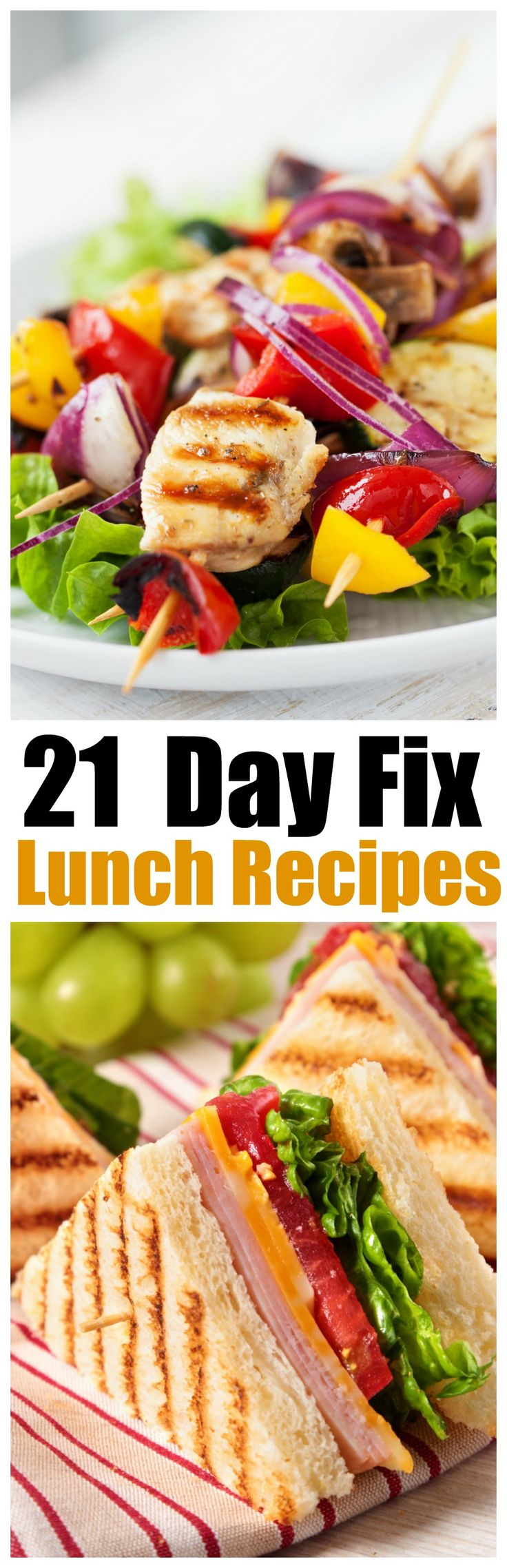 21-Day Fix Lunch Recipes, Get a lunch for Every work day of the month with these 20 21-day fix recipes