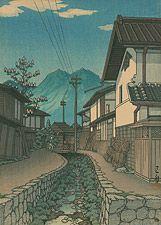 Nogami, Saitama Prefecture by Kawase Hasui