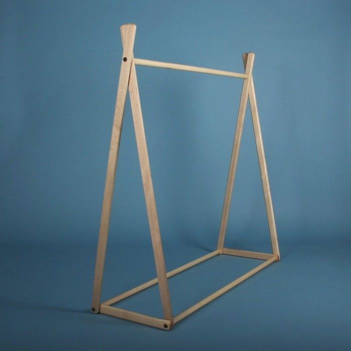 Such Great Heights Natural Children's Clothing Rack | Remodelista  Love all the models!