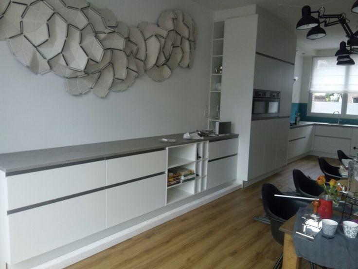 44 best moderne keukens images on pinterest kitchen designs kitchen ideas and modern kitchens - Deco keuken kleur ...
