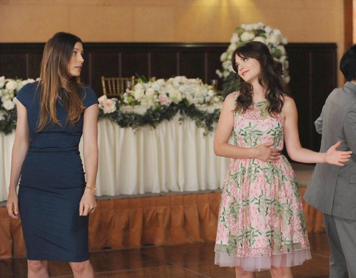 Pin for Later: Here's What's in Store for New Girl's Season Premiere  I really hope this is Jess awkwardly asking Kat to dance with her.