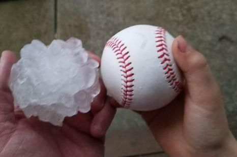 A severe weather system created multiple tornadoes around the Chicago area on Tuesday, forecasters said, and produced baseball-sized hail…