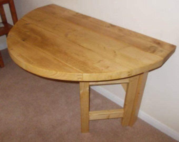 Mesa rústico espacio ahorro gota hoja barra desayunadora cocina - hoja Oval medio 048