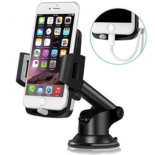 Support Téléphone Voiture Ventouse Auto – TOPLUS Support Voiture Réglable, Rotation à 360°Support iPhone Voiture au Pare-brise et Tableau de bord GPS pour iPhone 7/7 Plus/6S/6s Plus/5, Samsung #Support #Téléphone #Voiture #Ventouse #Auto #TOPLUS #Réglable, #Rotation #°Support #iPhone #Pare #brise #Tableau #bord #pour #Plus/S/s #Plus/, #Samsung