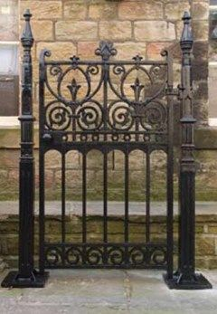 Antique Gates and Railings in Iron, Timber or Stone for sale here at UKAA