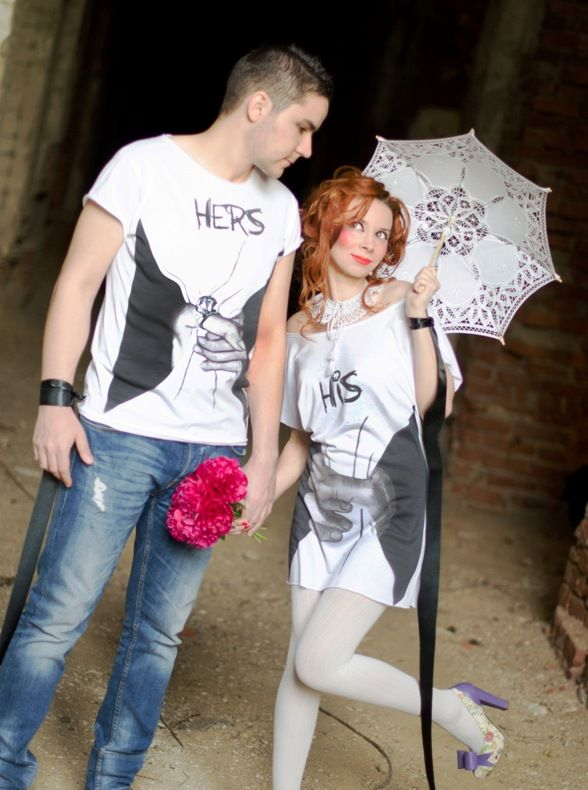 HOTnCOOL T-Shirts. The Nuptials Photoshoot.