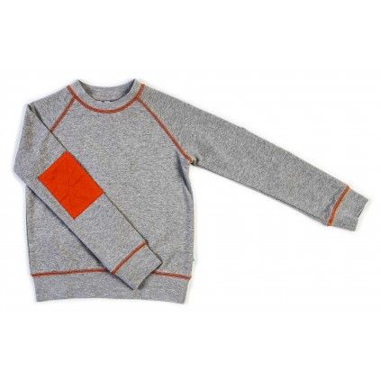 Basic Windcheater - Grey Marle - Tops - Boys