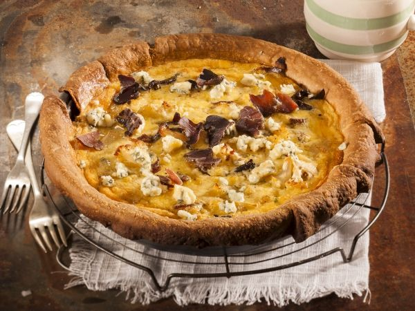 From the YOU test kitchen: Biltong and cauliflower tart