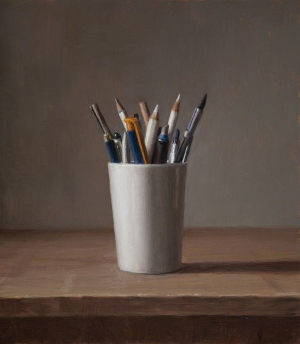 Still Life - Pencils by Harry Holland