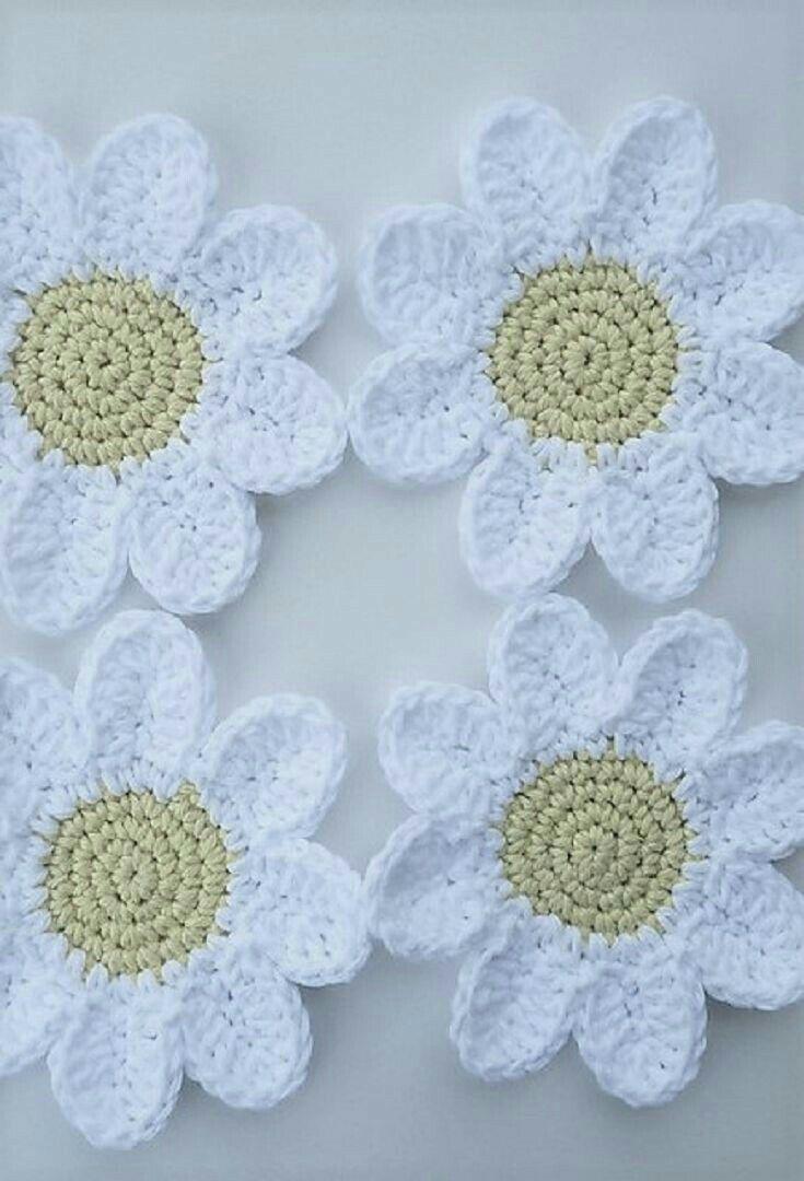 43 besten Flower patterns Bilder auf Pinterest | Blumen häkeln ...