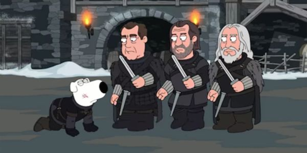 Watch Family Guy's Bloody And Ridiculous Game Of Thrones Gag #FansnStars