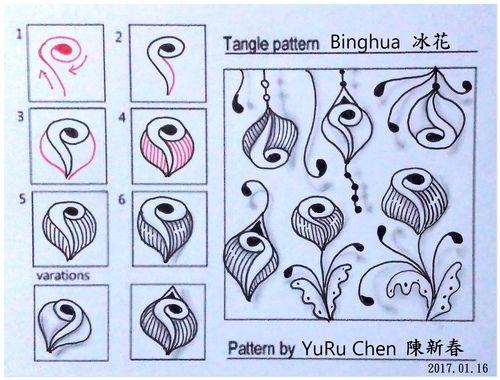 自創圖樣 053 - Binghua 冰花 @ 昱如~顧布自風~ :: 隨意窩 Xuite日誌