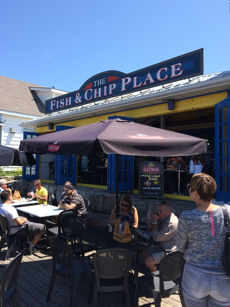 The Fish & Chip Place in Northern Bruce Peninsula, ON
