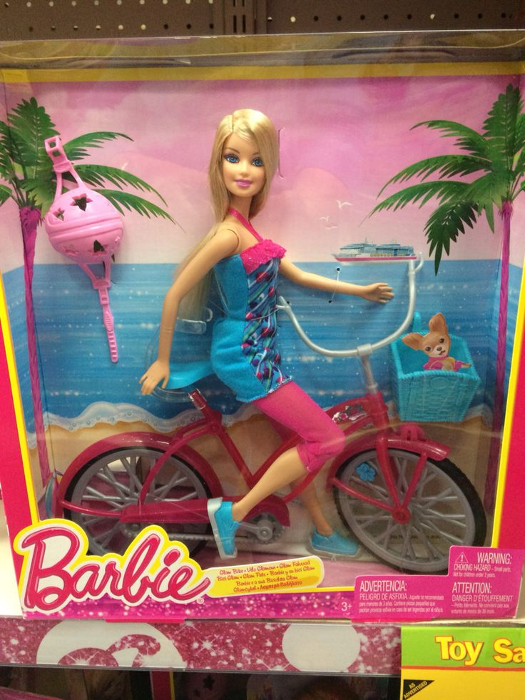 Barbie with Bike