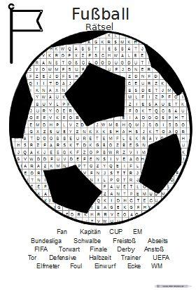 Fußball Rätsel • ABC - Wichte