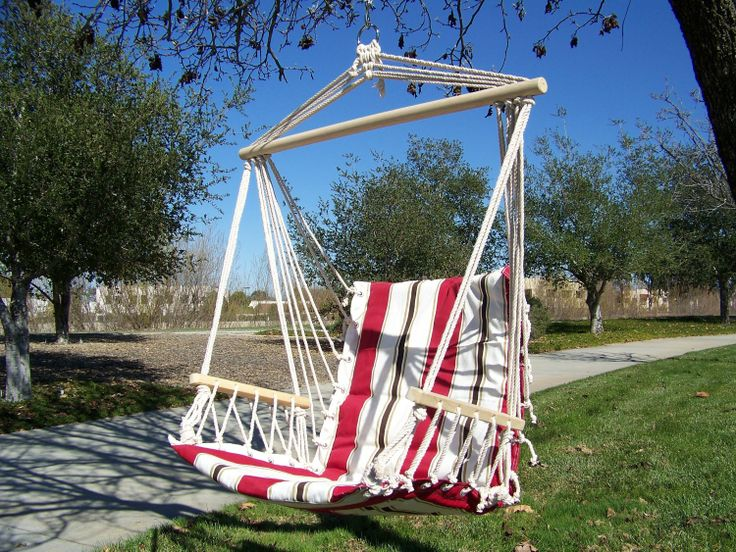 Petras Polycotton Padded Hammock Chair Swing