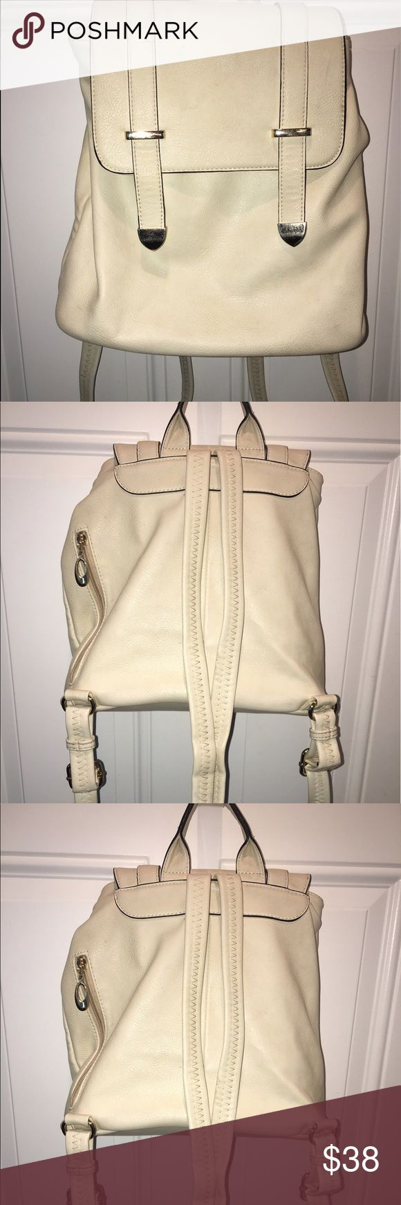 Leather Napsack Great medium sized bag... not real heavy! Bags Backpacks