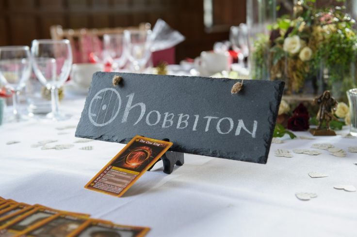 """Wed in Middle Earth"" – A Lord of the Rings Inspired Wedding Day with DIY Elements"