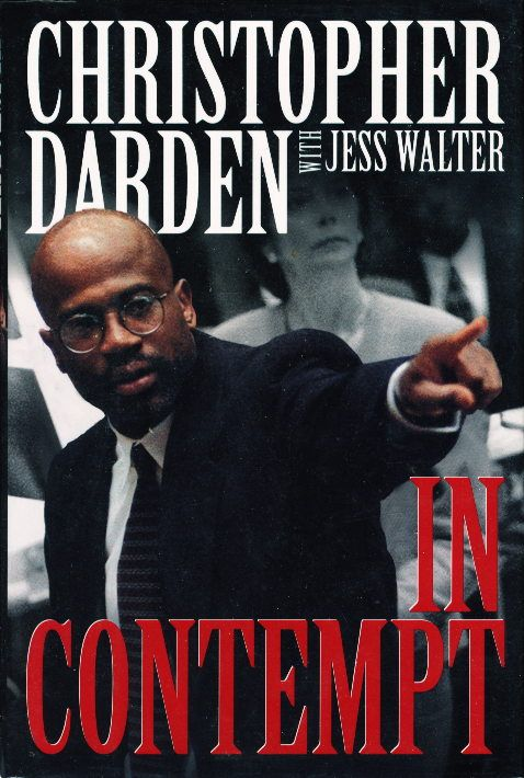 In Contempt by Christopher Darden (Harpercollins) #books