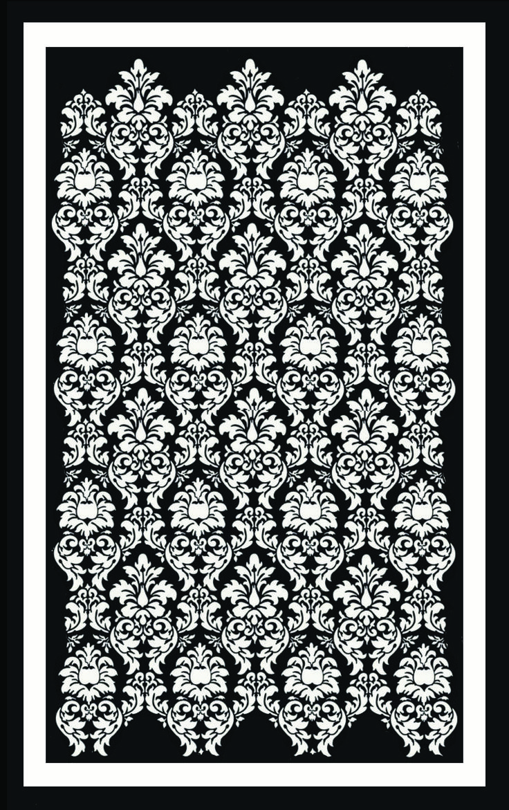 Damask Rug design, Anna-Grace Davidtson