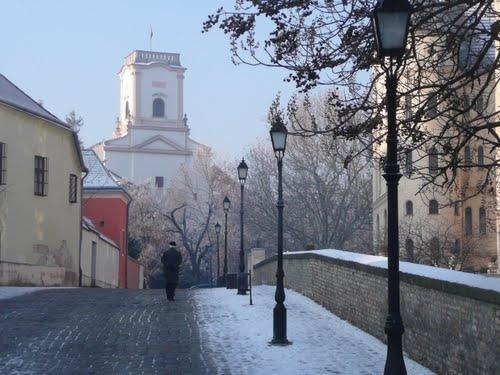 Kaptalan Hill. Gyor, Hungary