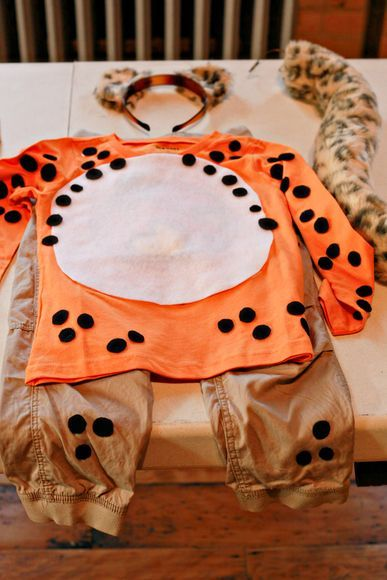 Cheetah Halloween Costume Instructions - Trick or Treat - National Geographic