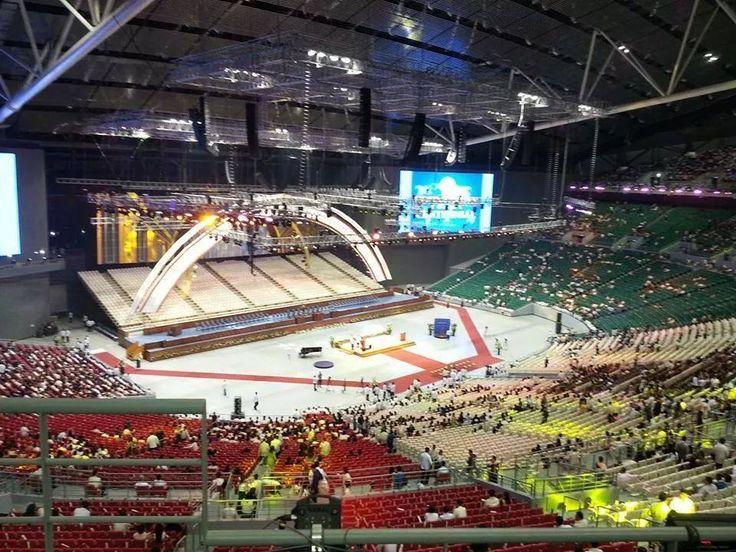 Inside Philippine Arena
