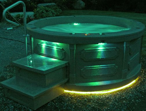 17 Best Images About Hot Tub On Pinterest Hot Tub Deck Swim And Fireplaces