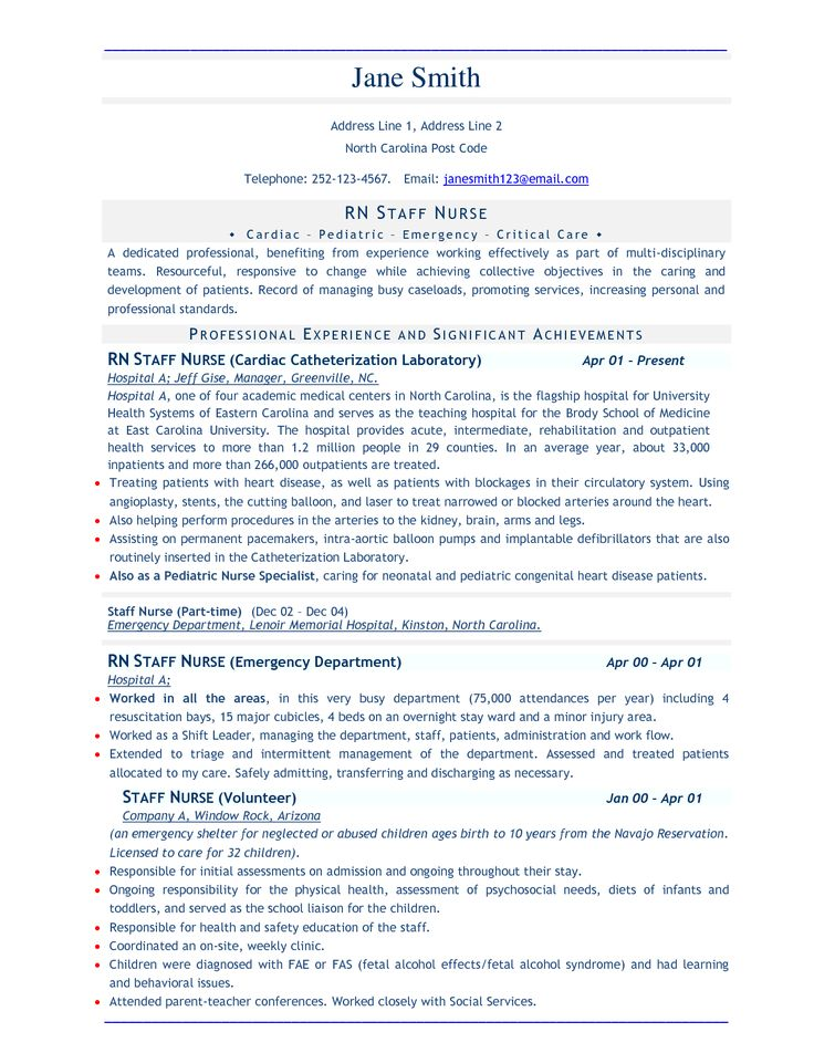 professional template resume