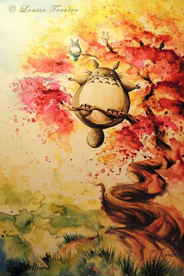 Totoro chan | Studio Ghibli | Totoro, Studio ghibli art ...
