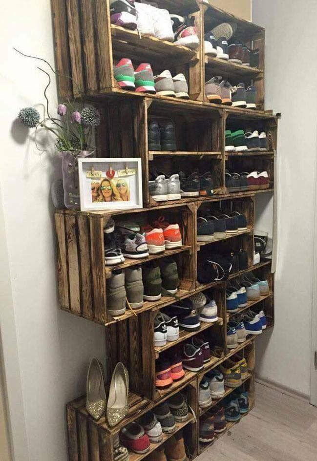 Creative Shoe Storage Idea Yay Or Nay Some Pros Ample Storage