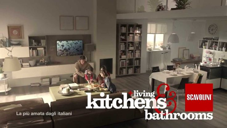 Una casa tutta Scavolini | Una proposta completa per gli ambienti cucina, bagno e living | #Spot | #InteriorDesign