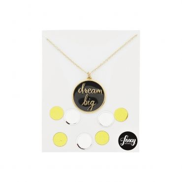 Always remember to dream big, it's the first step to success! #DreamBig #FoxyOriginals #Necklace #Gold #Graduation #Present