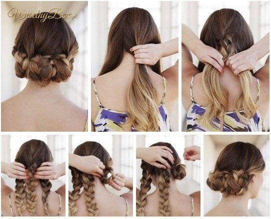 Szybki, prosty splot na włosach!
