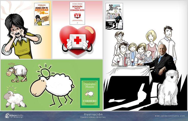 CalderonSTUDIO Portafolio Ilustración Tradicional/Digital 1