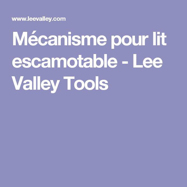 Mécanisme pour lit escamotable - Lee Valley Tools