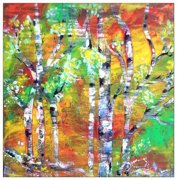 Acrylmalerei für Anfänger und Kinder, acrylic painting for beginners or ...