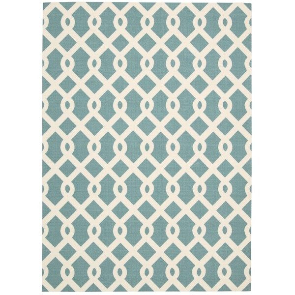 Waverly Sun N' Shade Ellis Poolside Indoor/ Outdoor Rug by Nourison (10' x  13') by Nourison - 36 Best Area Rugs Images On Pinterest Area Rugs, Indoor Outdoor