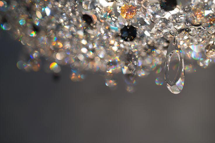 Artica shaped Swarovski pendant #Swarovski #Manooi #crystal #crystalchandelier #lighting #lightingdesign