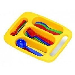 ♥ Plasto Cutlery Set Kitchen Imaginary Play Toy Pretend Play ♥