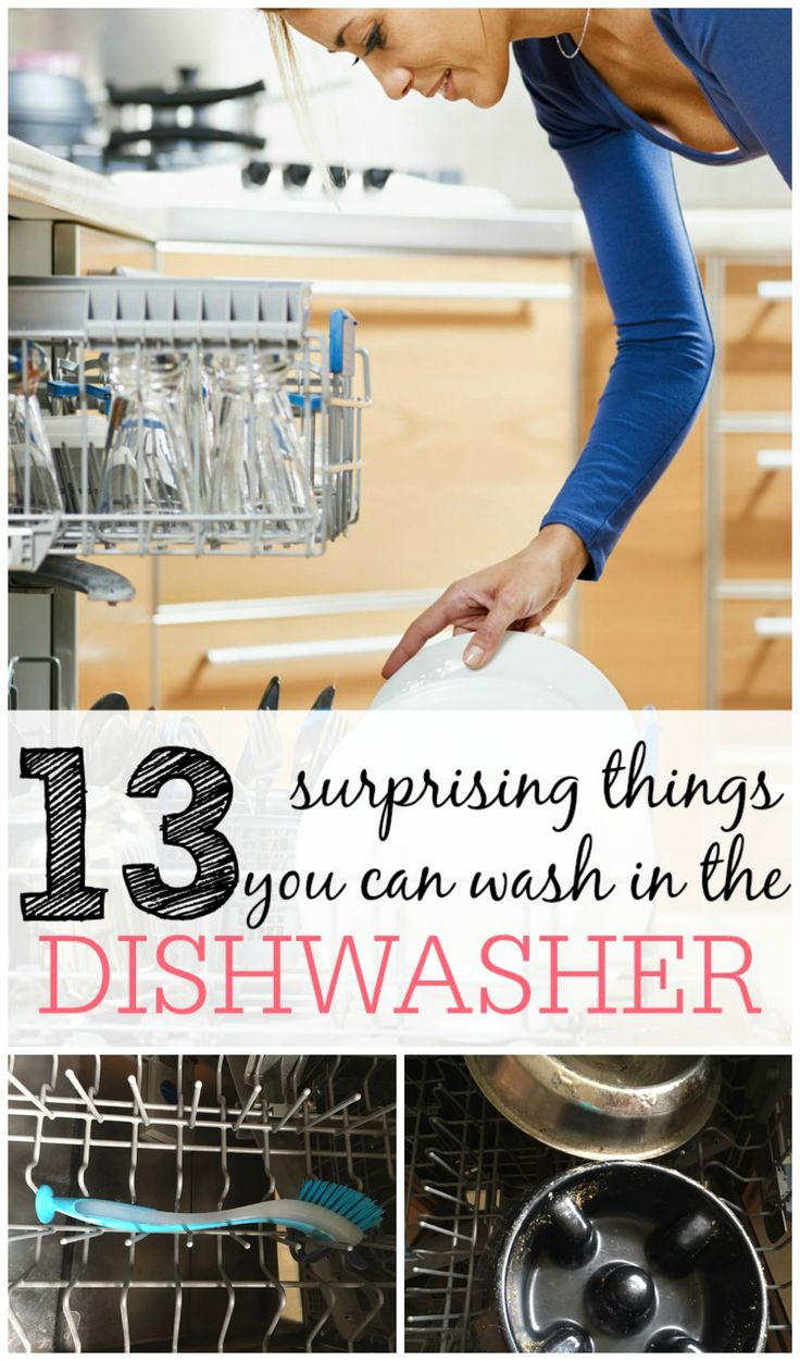 13 Surprising Things You Can Wash In The Dishwasher