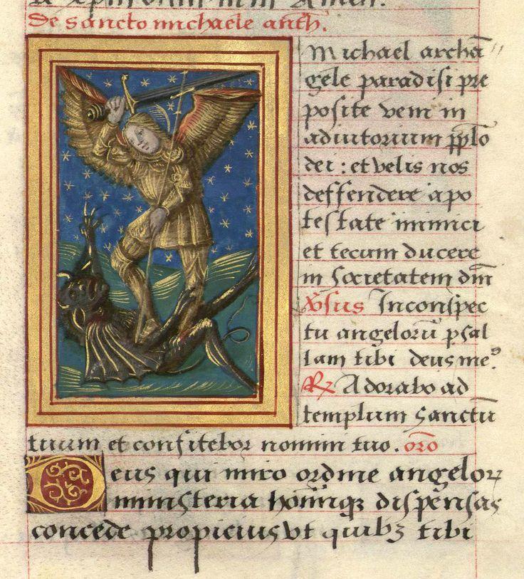 """Livre de prières de Madeleine d'Azay ; """"Saint Sébastien"""" (1508). Bibliothèque-médiathèque de Nancy, Ms. 355""""."""