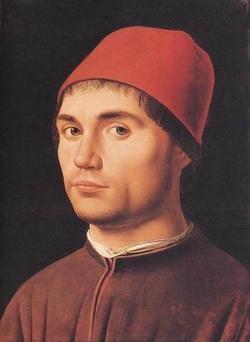 ANTONELLO da Messina Portrait Of A Man 1475 2
