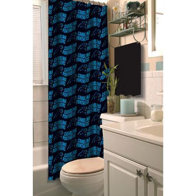 Northwest Co. NFL Panthers Shower Curtain